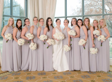 Kendall and Patrick | Photo: Sara Donaldson | Holy Family | River Crest Country Club | Shannon Schults Events